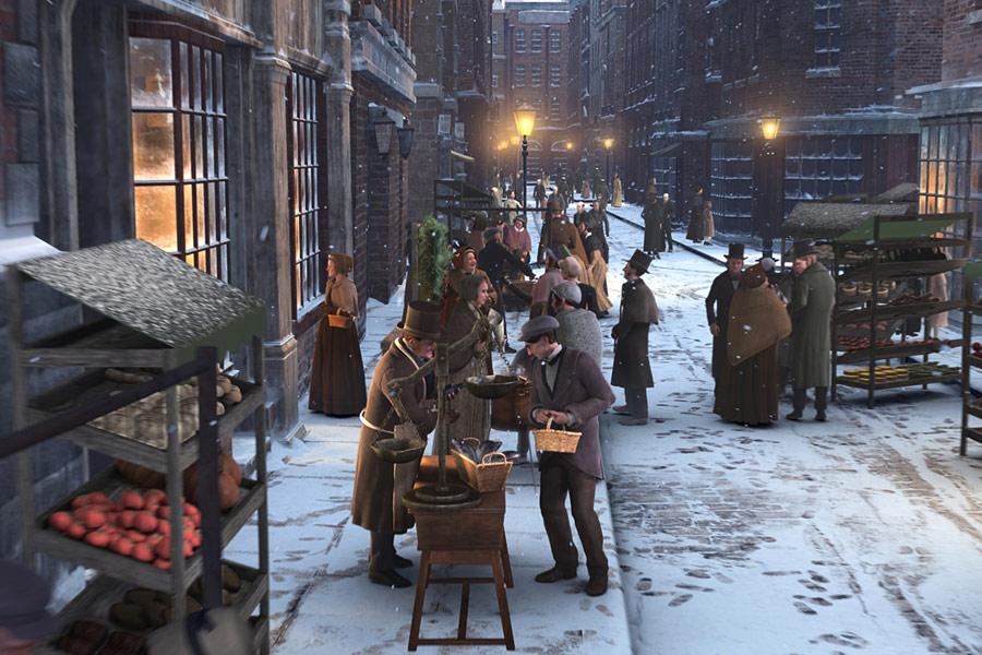 Opowiesc Wigilijna A Christmas Carol 2009 1